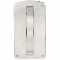 Accurate Lock CP Cresent Pull Rigid Handle Surface mount
