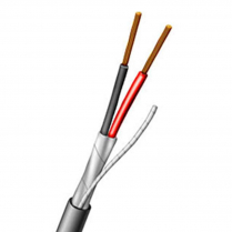 Aiphone 82220210C 2-Conductor Shielded 1000'