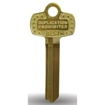 Best Lock 1A1B1-KS473-KS800 Key Blank B Keyway