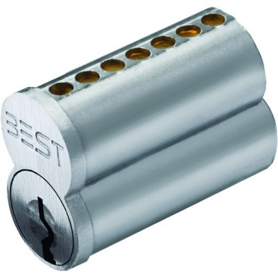 BEST Lock Uncombinated Core Cylinders