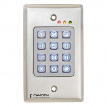 Camden CM-120WV2 Outdoor SS 999 Users Metal Backlit Keypad