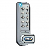 Codelocks KL1200-SG Cabinet Electronic Keyless Door Lock