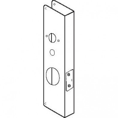 "Don Jo Wrap-Around, Kaba 1000, 2 3/4"" Backset, 1 3/4"" Door"
