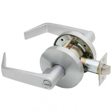 Falcon W301S-D-626 Privacy Lock, Dane Lever, Satin Chrome