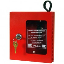 HPC 511 Emergency Key Box Red