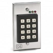 I.E.I. Indoor Keypad, Stainless Face, Flush Mount