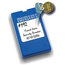 KeySure 101-B Tamper Proof Key Control Lock Box (Blue)