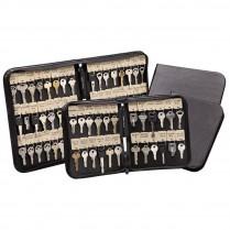 Key Systems 10x Vel-Key Zipper Key Cases