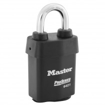 Master Lock 6420 Pro-Series Wide Weather Tough Rekeyable Interchangeable Core Padlock