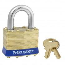 Master Lock Brass Laminated Padlocks