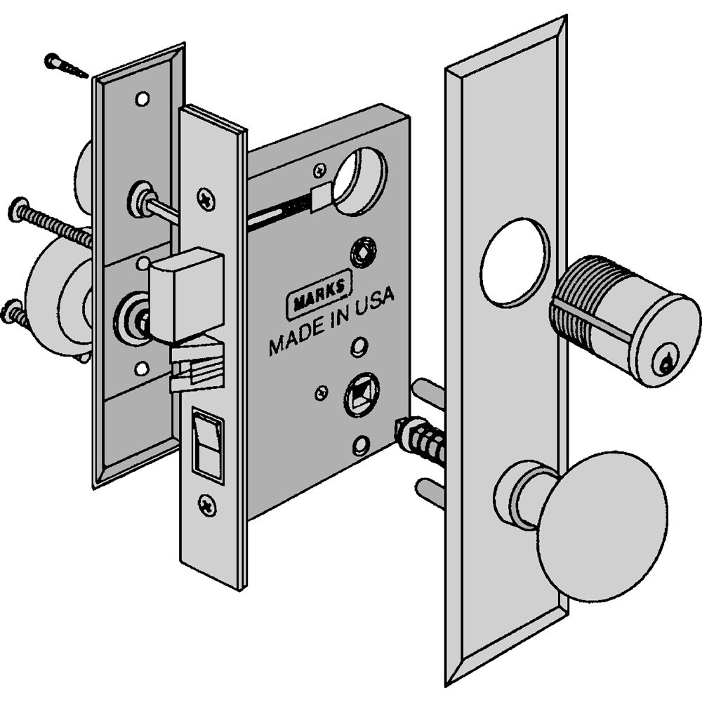 Marks USA New Yorker Mortise Locks | Craftmaster Hardware