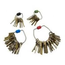 Morse Watchmans KR KeyRings Series Tamper-Proof Key Rings