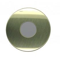 "Progressive 198 Round Scar Plate, 3-1/16"" OD, 1-1/4"" Hole"