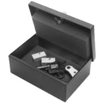 "Perma-Vault Gun Locker, 4.25"" x 12.25"" x 8.5"""