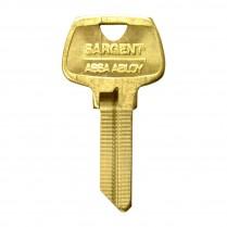 Sargent 265 Key Blank U Keyway 5 Pin