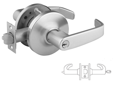 Sargent 28-10G05-LB-3 Entry/Office, Cylindrical Lever Lock