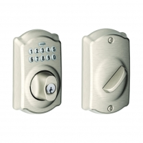 Schlage BE365-PLY-619 Keypad Deadbolt, Plymouth