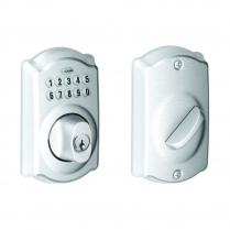 Schlage BE365-PLY-626 Keypad Deadbolt, Plymouth