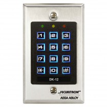 Securitron DK-12 Digital Keypad System - Single Gang