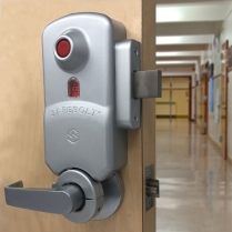Securitech SB175 SAFEBOLT Instant Button Activated Lockdown Lock