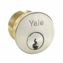 "Yale 1-1/8"" Mortise Cyl KA-1620/2642 X 1765 (.250) Ring"