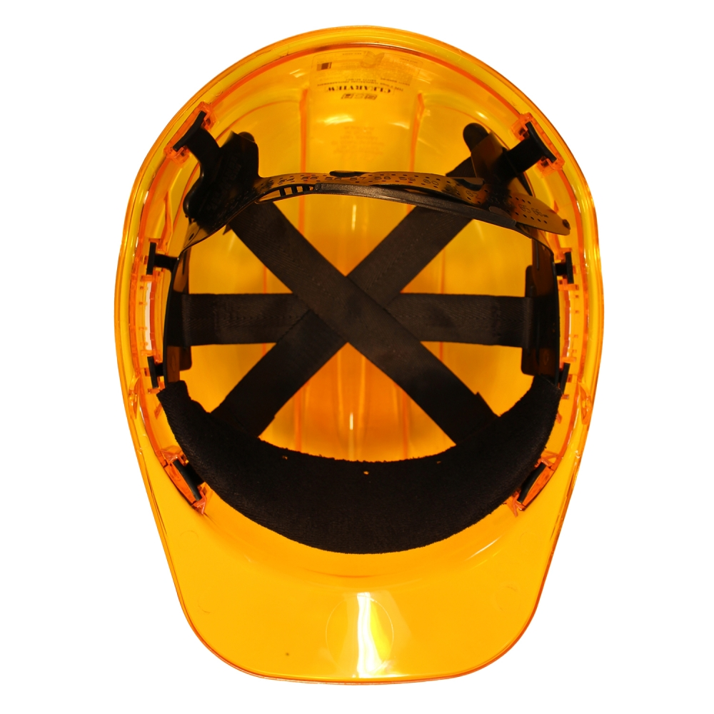 PEAK VIEW HARD HAT ORANGE VENTED