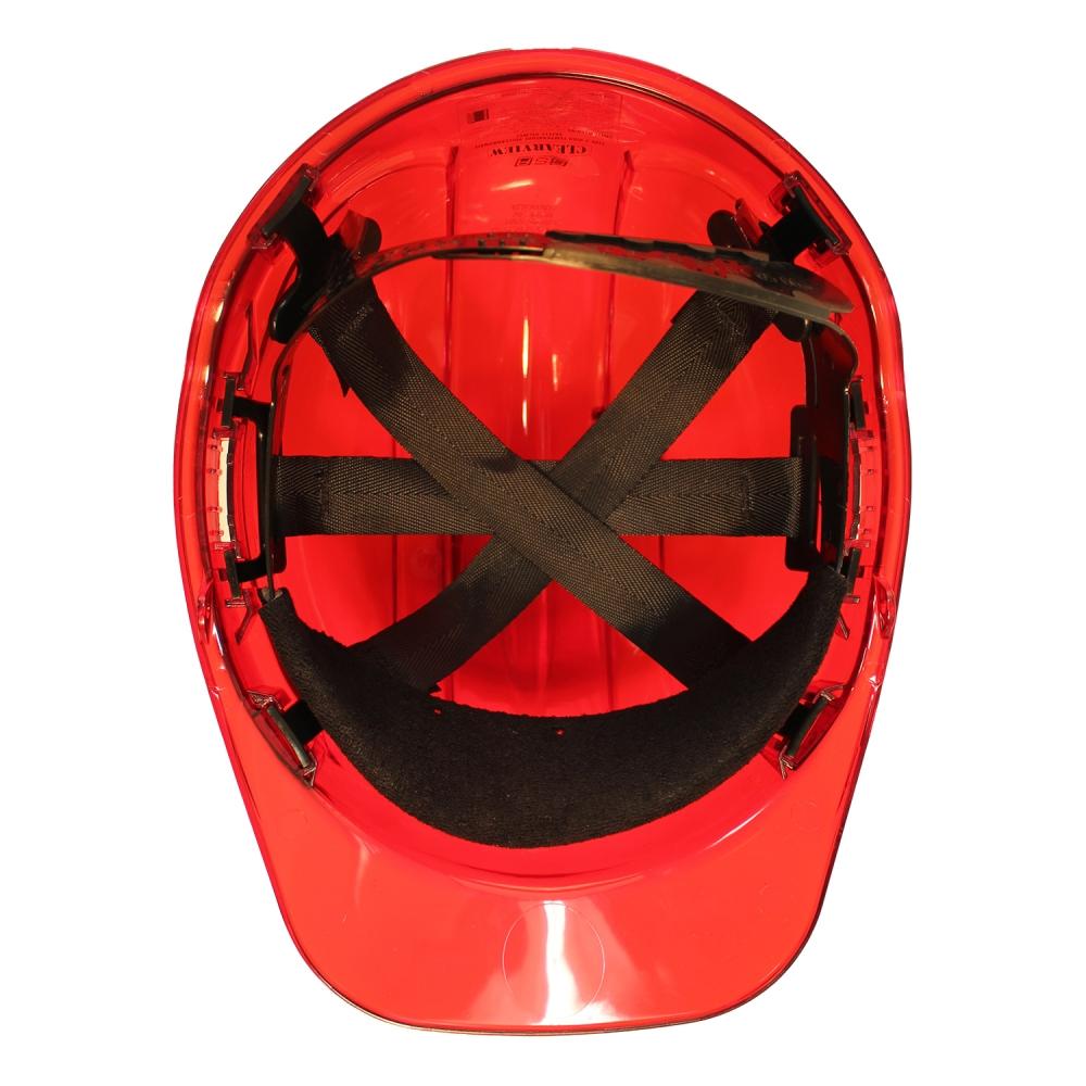 PEAK VIEW HARD HAT RED VENTED