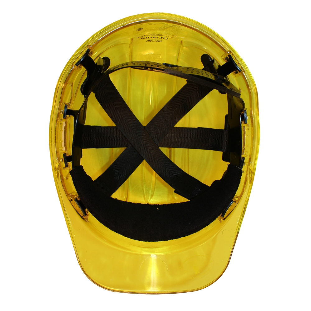 PEAK VIEW HARD HAT YELLOW VENTED