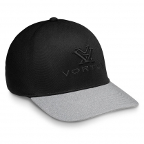 Vortex Cap: Fitted Black Out Cap (L/XL only)