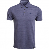Vortex Men's Polo: Punch In Crown Blue