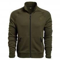 Vortex Men's Sweater: Basil City Route Full Zip