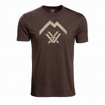 Vortex T-Shirt - Brown Heather Thin Air Logo