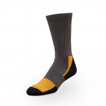 Vortex Men's Socks - Charcoal Everyday Trekker Crew