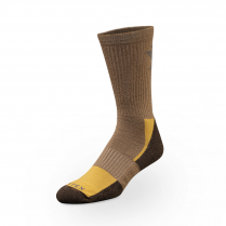 Vortex Men's Socks - Beige Everyday Trekker Crew