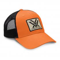 Vortex Cap: Light Orange Patch Logo