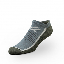 Vortex Men's Socks - Olive Black No Show