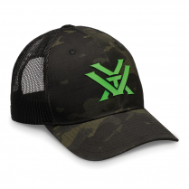 Vortex Cap: Nightfall - Black with Neon Green
