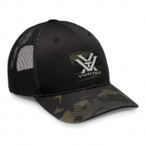Vortex Cap: Pathbreaker Grey Black Camo