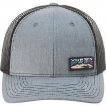 Vortex Women's Cap: Heather Grey Mountain Lights