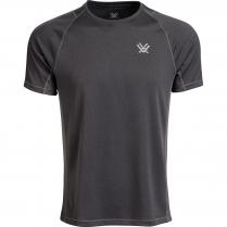 Vortex Men's Short Sleeve Weekend Rucker: Charcoal