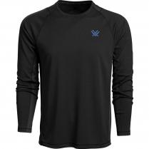 Vortex Men's Long Sleeve Weekend Rucker: Black