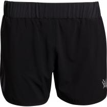 Vortex Women's Shorts: Black Sun Stomp