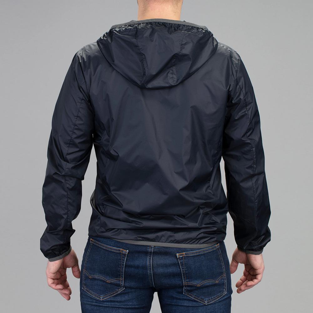 Vortex Men's Rain Breaker:  Black Full Zip Storm Silencer