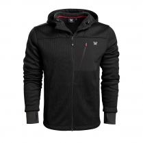 Vortex Jacket - Black Bonded Fleece