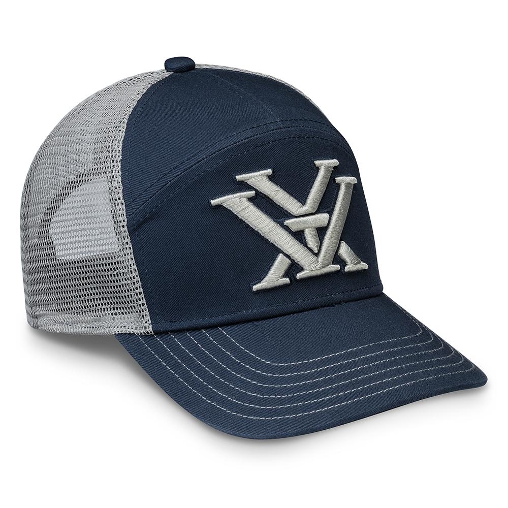 Vortex Cap: Navy 3 Panel Logo