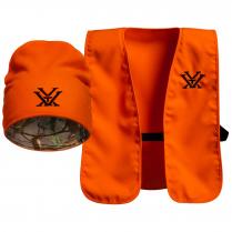 Vortex Blaze Orange Vest and Toque Combo