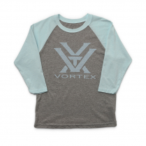 Vortex Kid's T-Shirt - Ice Blue