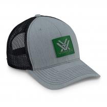 Vortex Cap: Grey/Kelly Green Pursue and Protect