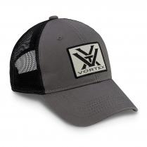 Vortex Cap: Charcoal Grey Patch Logo
