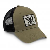 Vortex Cap: Olive Patch Logo